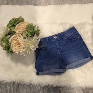 Justice Girls Jean Shorts!